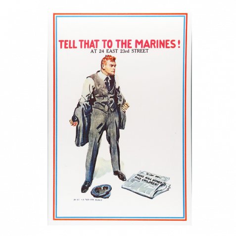 Tell That to the Marines Poster 144