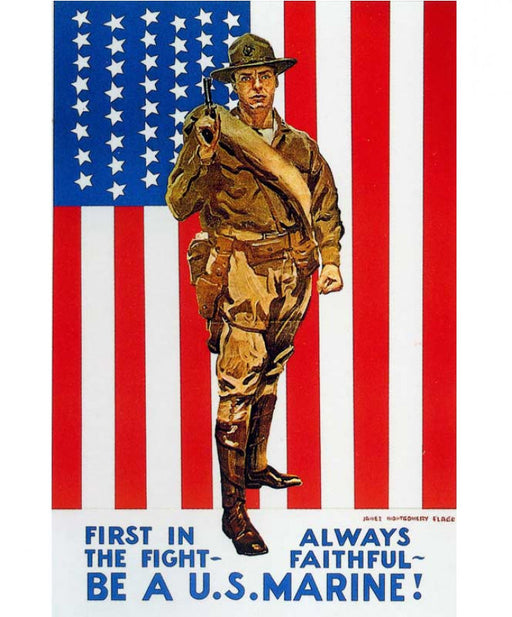 Be A Marine Poster 148