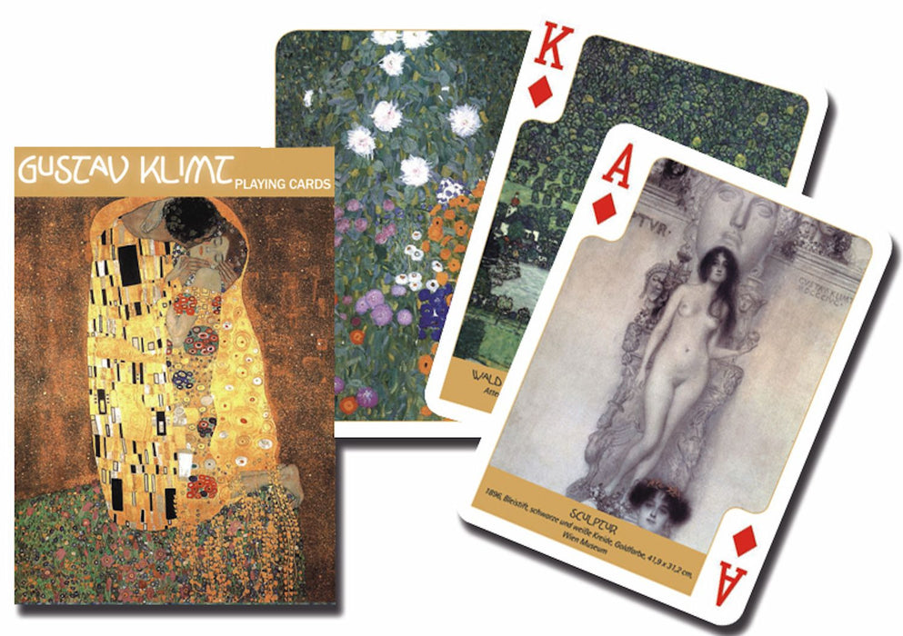 Gustav Klimt Playing Cards