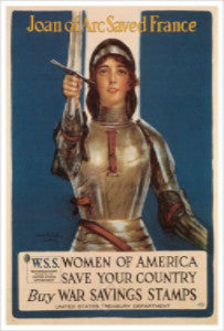 """Joan of Arc"" Mini Poster"