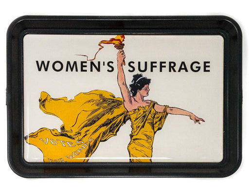 Women's Suffrage Tray