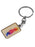KC Watercolor Skyline Keychain