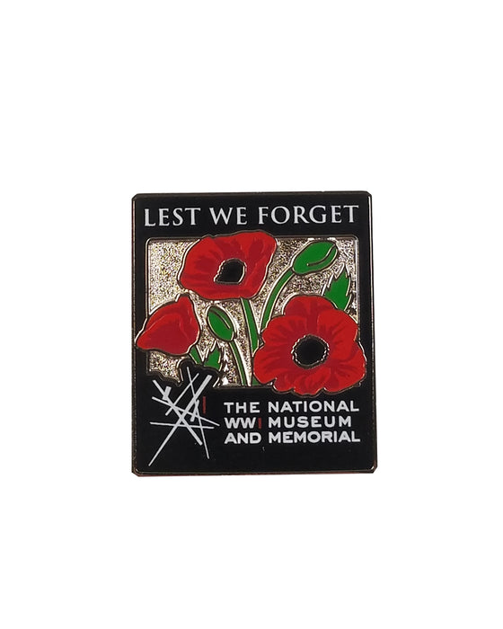 """Lest We Forget"" Lapel Pin"