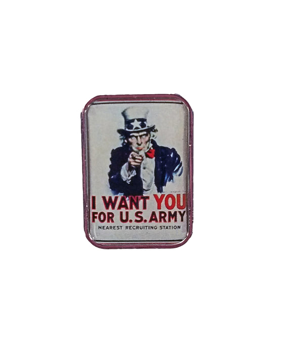 Uncle Sam Lapel Pin