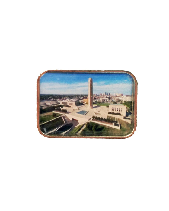 Aerial View Lapel Pin