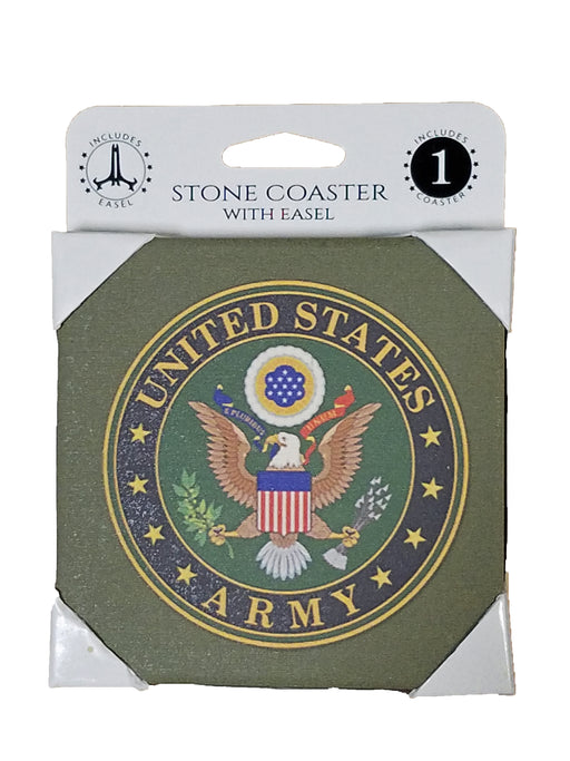 Army Coaster w/Easel