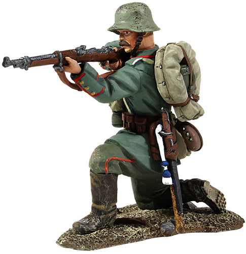 German Infantry Kneeling Firing