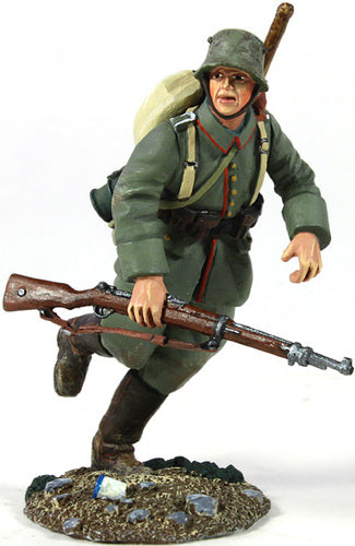 German Infantry Pioneer Running