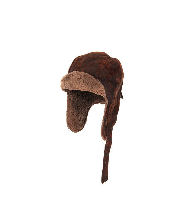 Lined Aviator Cap