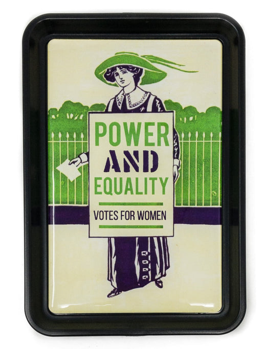 Power and Equality Votes for Women Tray
