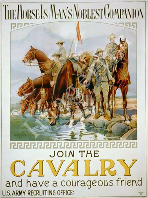 Join the Cavalry Poster 184
