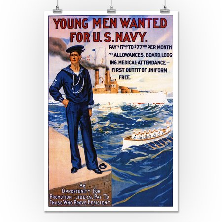 Young Men Wanted for U.S. Navy Poster 181