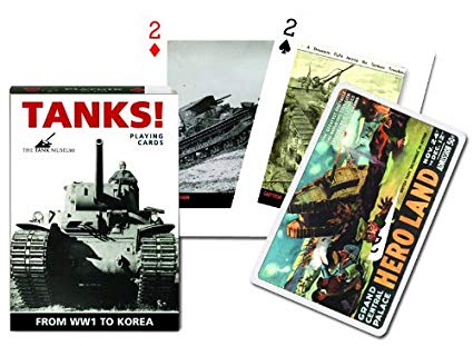 Tanks From WWI to Korea - Playing Cards