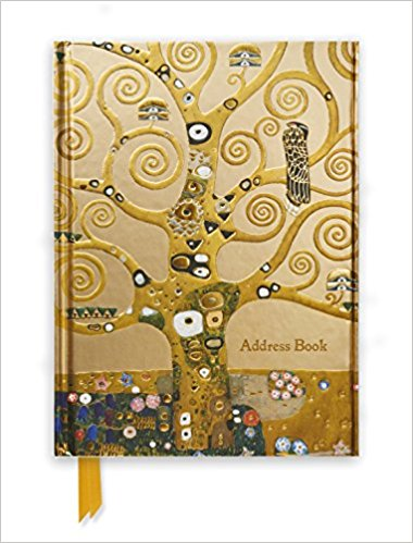 Address Book - Klimt: Tree of Life