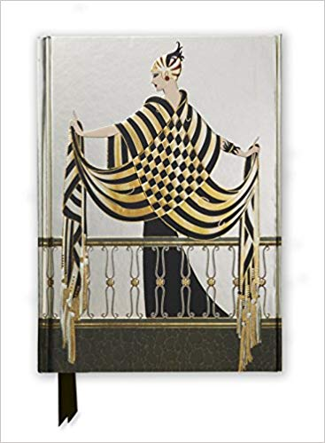 Erté: The Balcony (Foiled Journal)