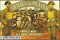 WWI US Army Doughboys