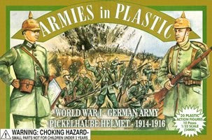 Armies in Plastic - German Army, Pickelhaube Helmet, 1914-1916