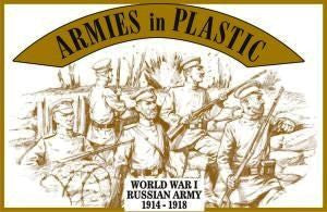 Armies in Plastic - Russian Army, 1914-1918