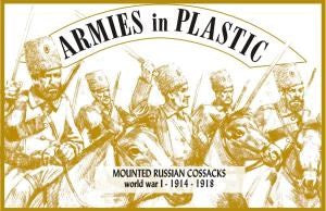 WWI - Mounted Russian Cossacks - 1914-1918