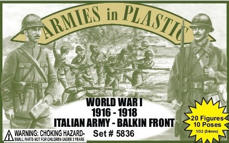 Armies in Plastic- Italian Army