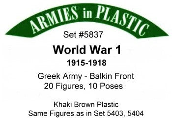 Armies in Plastic - Greek Army