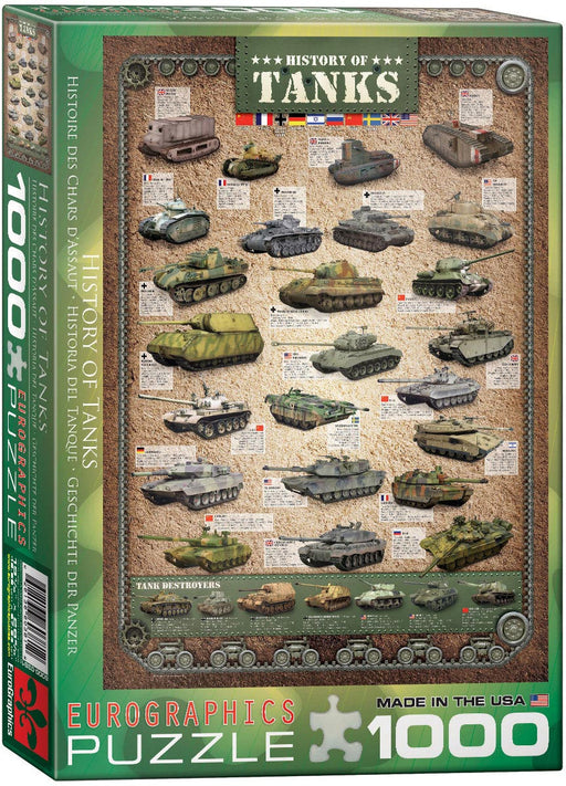 The History of Tanks 1000pc Puzzle