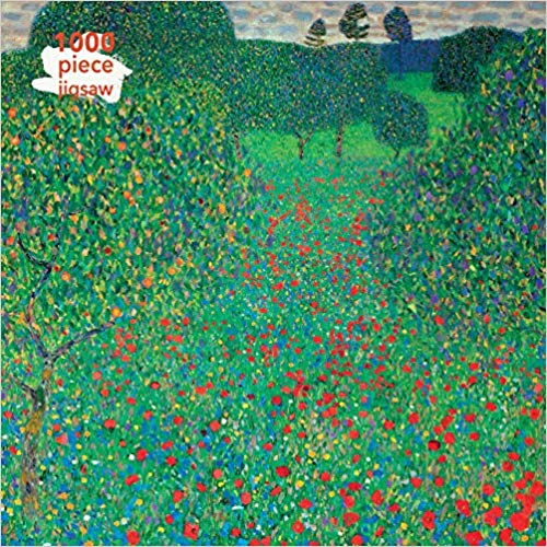 Gustav Klimt: Poppy Field 1000pc Puzzle