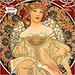 Mucha Reverie 1000pc Puzzle
