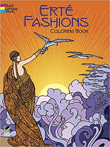Erté Fashions Coloring Book