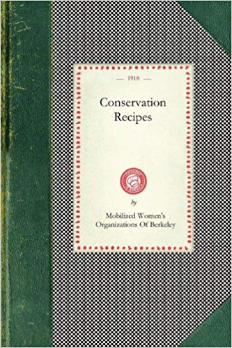 Conservation Recipes 1918