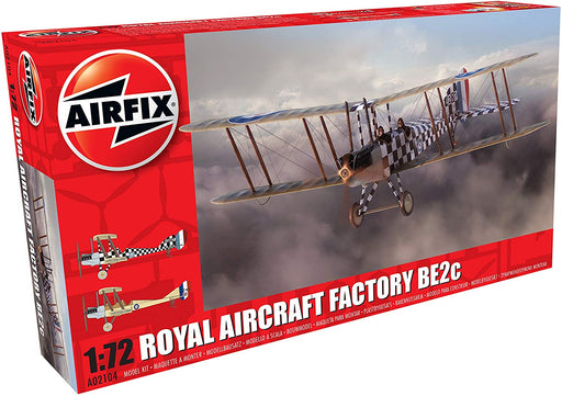 Airfix Royal Aircraft Factory BE2c Model A02104