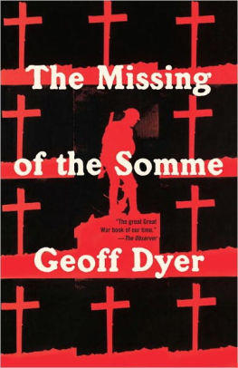 The Missing of the Somme [Dyer]