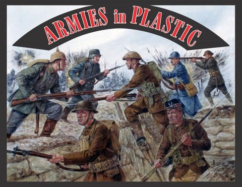 Armies in Plastic - Trench Warfare Playset