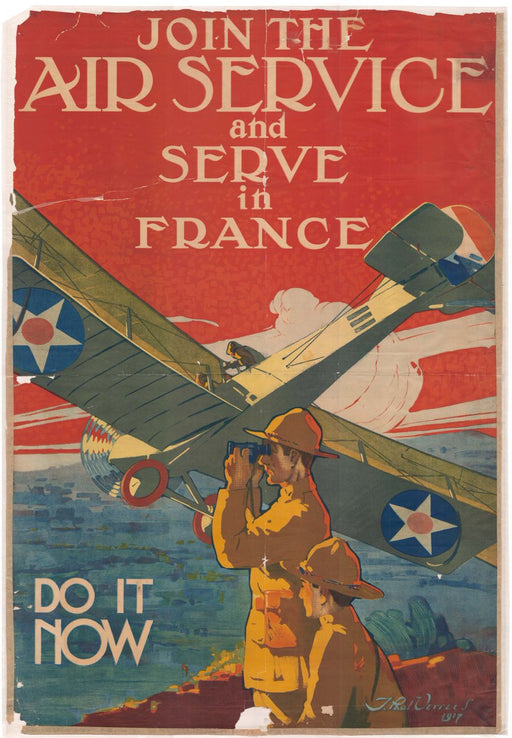 Join the Air Service in France Poster 191
