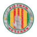 Vietnam Veteran sticker With Vietnam Wall