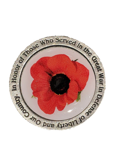 Museum/Poppy Challenge Coin