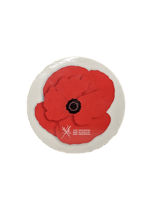 Round Sticker - Poppy