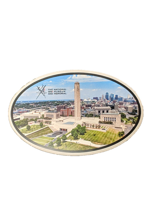 Car Magnet - National WWI Museum and Memorial Aerial View