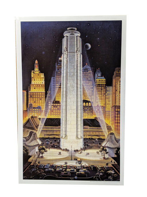 Mini Poster - Vintage Tower