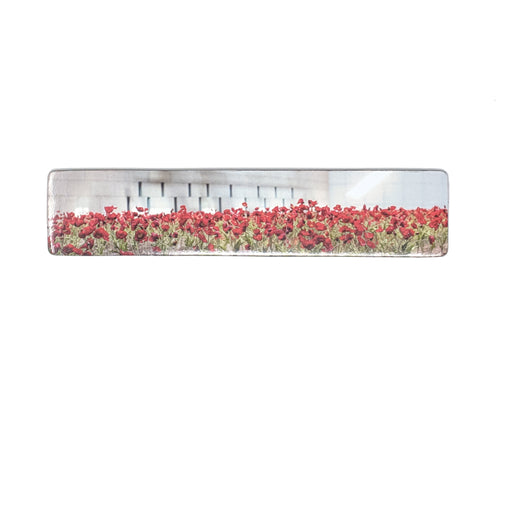 Panoramic Poppy Field Magnet