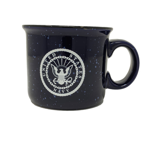 Ceramic Navy Camp Mug