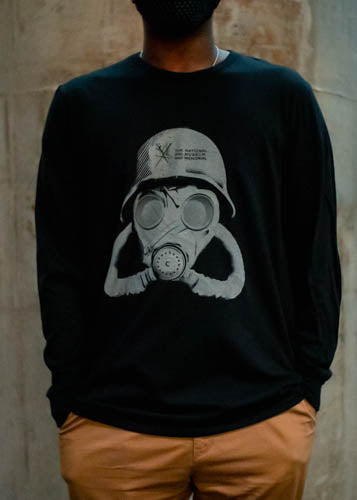 Long Sleeve Gas Mask T-shirt