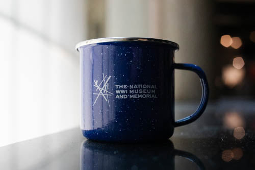 Tin Camp Mug - Blue