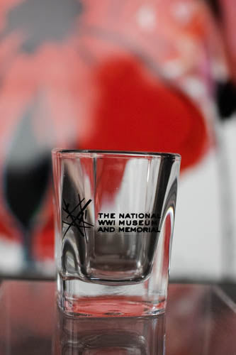 """Intersections"" Square Shot Glass"