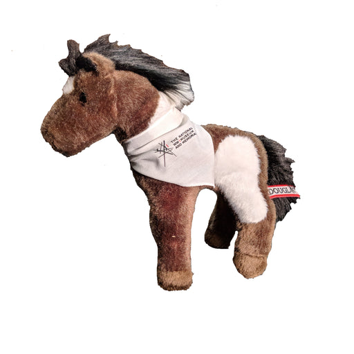Plush Horse w/WWI Museum and Memorial Bandana