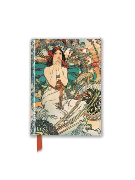 Mucha: Monaco Monte Carlo (Foiled Pocket Journal)