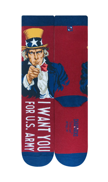 Uncle Sam Socks