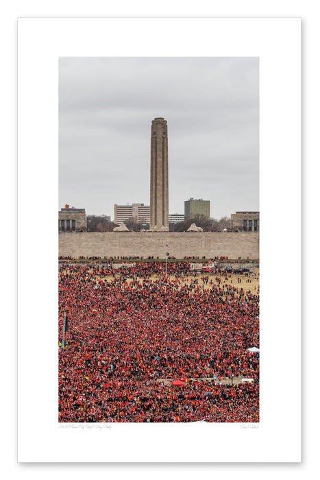 2020 Victory Rally Print - National WWI Museum and Memorial