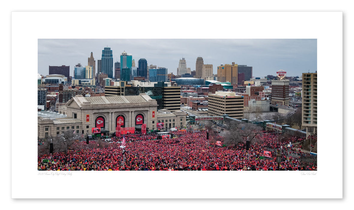 2020 Victory Rally Print - Union Station