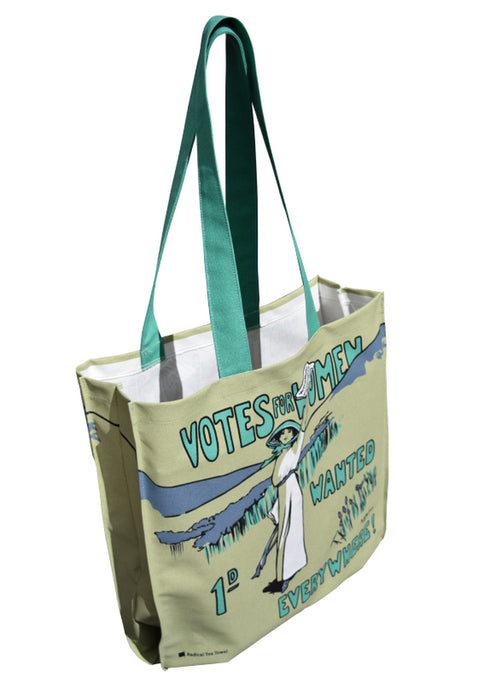 Votes for Women Tote Bag